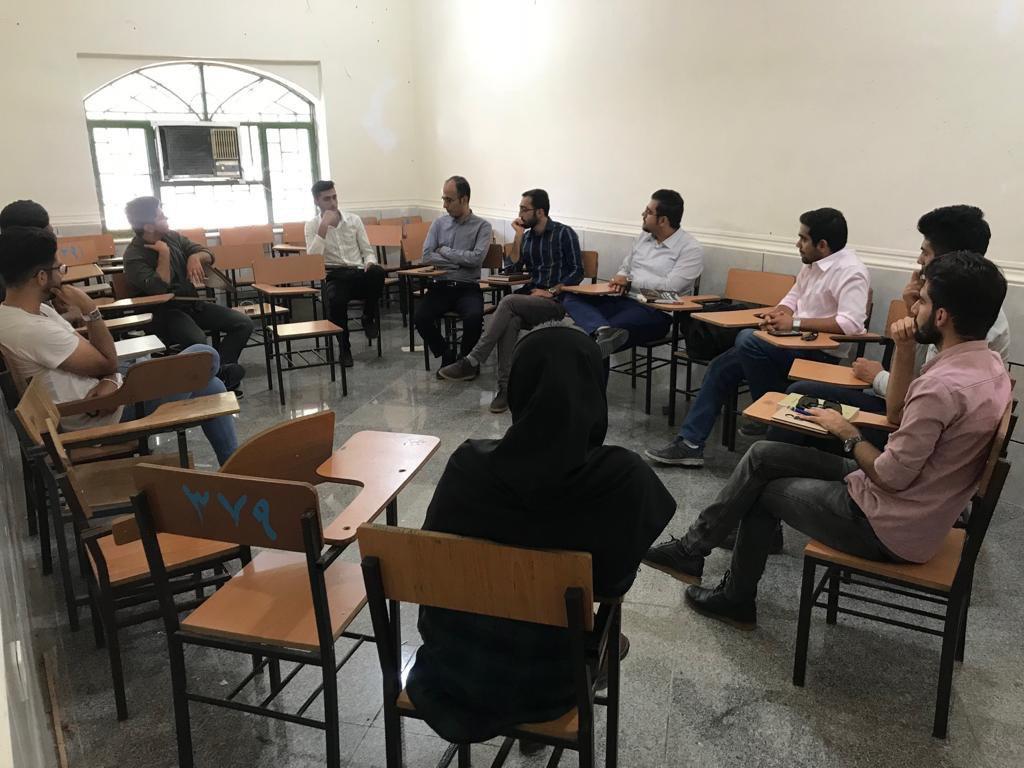افتتاح باشگاه کتاب در مرکزآموزش عالی لامرد
