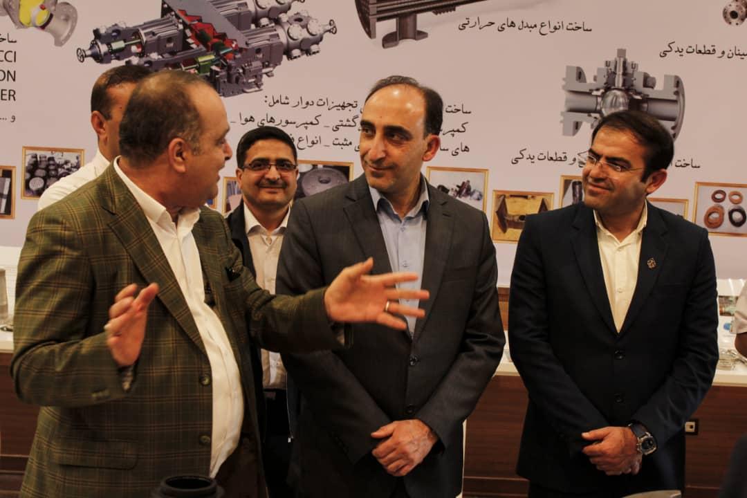 بازدید از دستاوردهای خودکفایی پالایشگاه گاز پارسیان