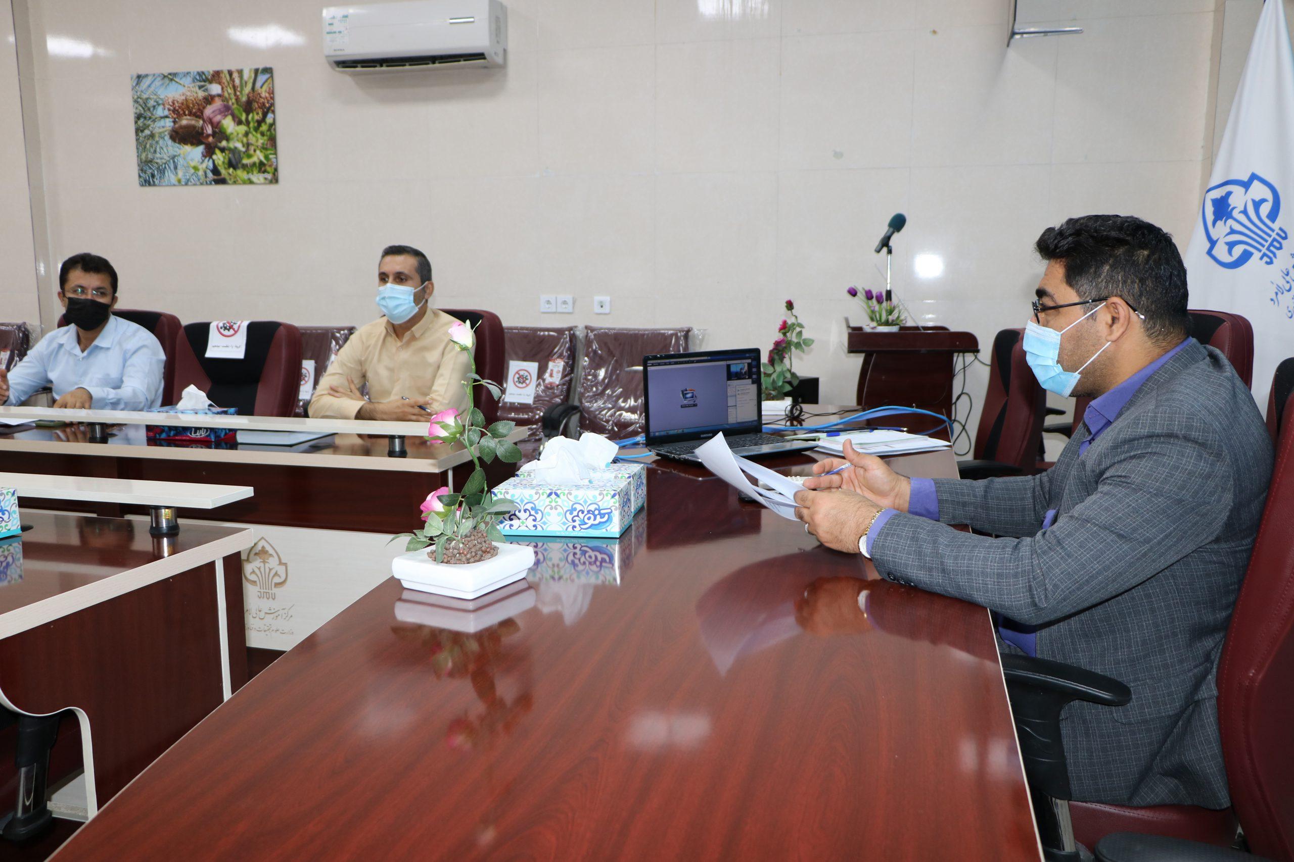 دومین جلسه مشترک طرح آمایش آموزش عالی،  مرکزآموزش عالی لامرد  و دانشگاه صنعتی شیراز  برگزارشد