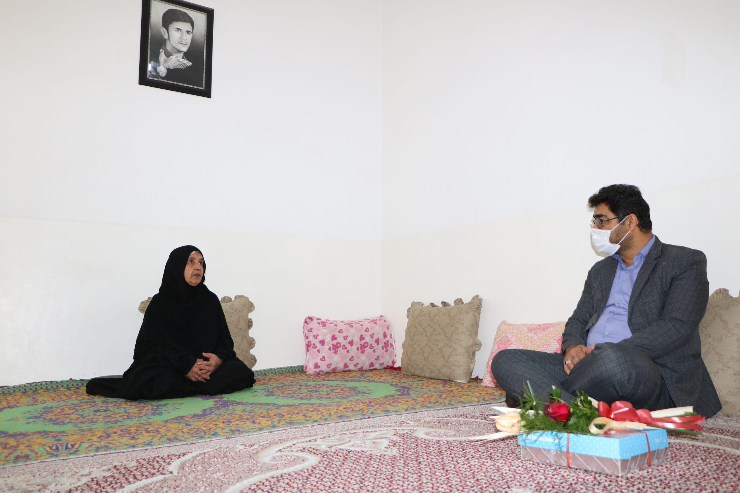 دیدار با خانواده ی شهید مصطفی بهمنی ، شهید فتح خرمشهر